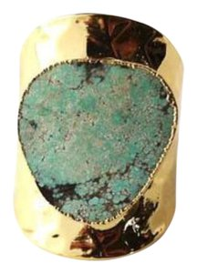 Mad Jewels African Turquoise Cigar Ring