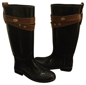 Coach Black/Brown Boots