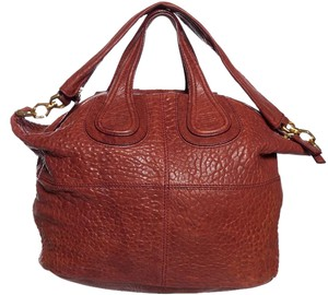Givenchy Satchel in Brick Red