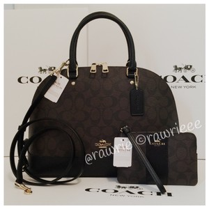 Coach Set Gift Set Satchel in black