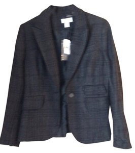 Ann Taylor LOFT Black and gray Blazer