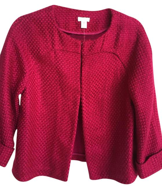 Chicou0026#39;s Travel Collection Raspberry Blazer