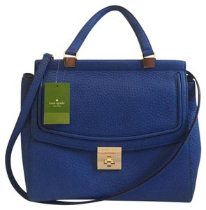 Kate Spade Tote Crossbody Satchel in Blue