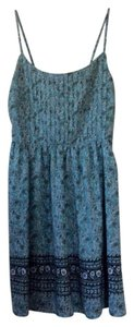 Old Navy short dress Different shades of blue on Tradesy