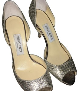 Jimmy Choo Champagne (muted silver) Formal