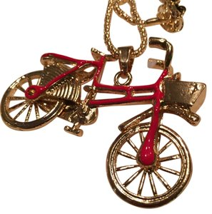 Betsey Johnson Red bikecicle