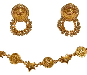 Versace ISTANTE By GIANNI VERSACE Bracelet & Earring Set