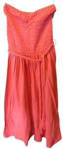 Quiksilver short dress Coral Strapeless Tube Top Comfortable on Tradesy