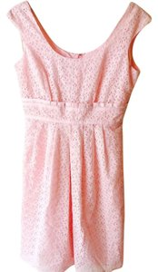 Talbots short dress Pink on Tradesy