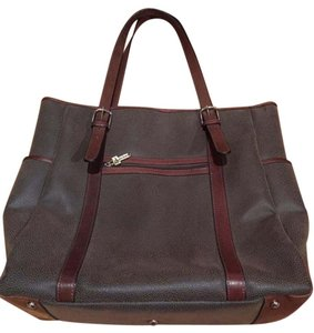 Jack Georges Tote in Tan/Carmel Accents