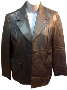 betty barclay leather suit