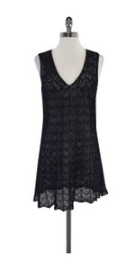 Emporio Armani short dress Black Knit V Neck Sleeveless on Tradesy