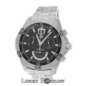 TAG Heuer Authentic Men's Tag Heuer Aquaracer CAF101A Chrono Steel 300M