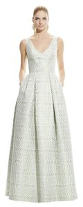 Theia Ball Gown V-neck Evening Gown Dress