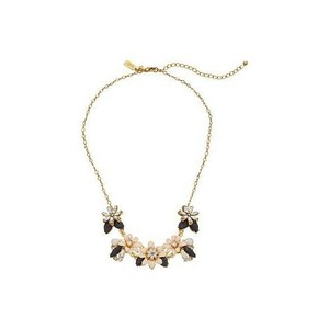 Kate Spade Glossy Petals Mini Bib Necklace