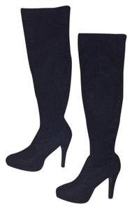 Macy's Suede Boot Winter Holiday Black Boots