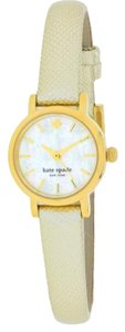 Kate Spade 'tiny metro' leather strap watch, 20mm