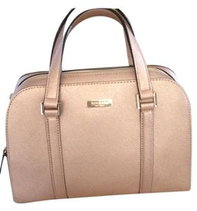 Kate Spade Felix Newbury Lane Saffiano Leather Satchel in Rose Gold