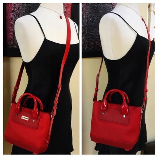 Hunter Tote in Red Image 2