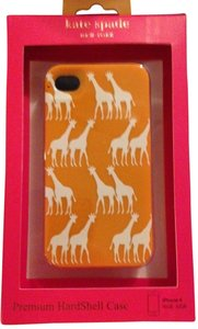 Kate Spade Kate Spade Hardshell Giraffes Parade Orange Case Cover iPhone 4/4S