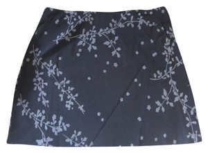 Express Print Skirt Black and grey
