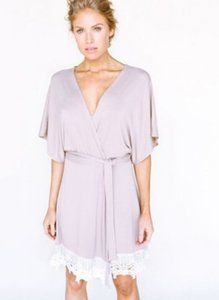 Plum Pretty Sugar You Are Loved Robe