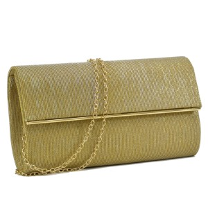 0f5a34dccad9 Other Classy The Treasured Hippie Vintage Party Wear Metallic Gold Clutch