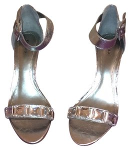 Style & Co Silver jeweled toe Formal