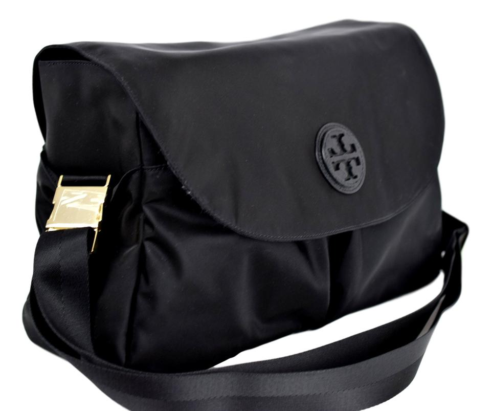 Tory Burch Messenger Nylon Black Diaper Bag 1234567891011