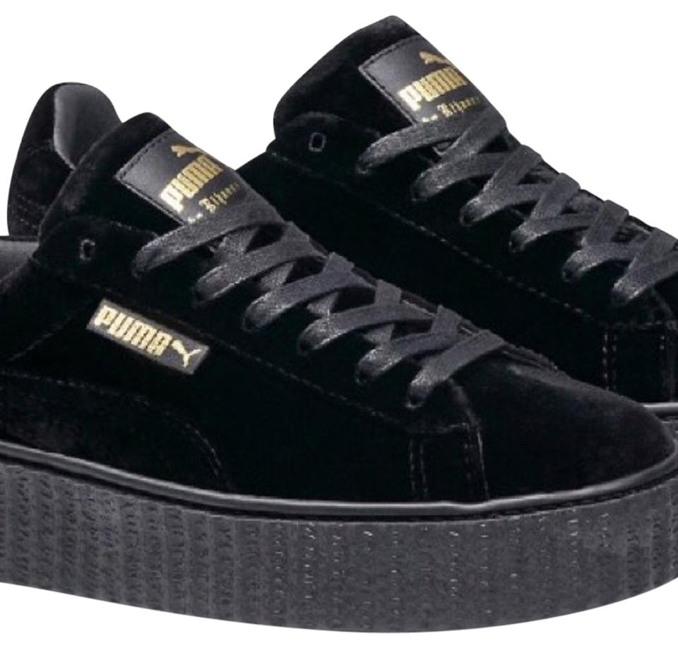 best authentic 1c949 fe239 Black Velvet Creepers Sneakers