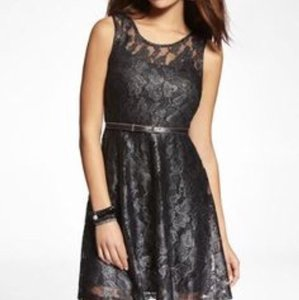 Express Lace Formal Holidays Party Dress