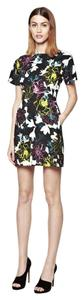 French Connection short dress Multi Cocktail Work Floral on Tradesy