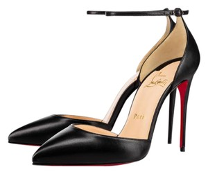Christian Louboutin Ankle Strap Uptown Louboutin Uptown Louboutin 100mm Louboutin Black Pumps