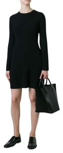 Theory Helmut Lang Ribbed Sweater Dress