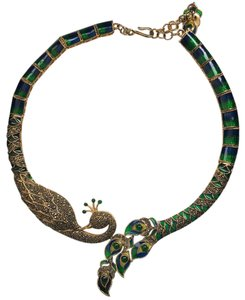 Thai Imperial Peacock Choker/Necklace