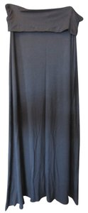 Gap Flowy Maxi Comfortable Maxi Skirt Black