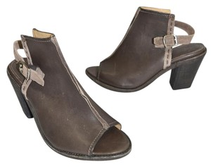 Frye Moto Slingback BROWN Boots