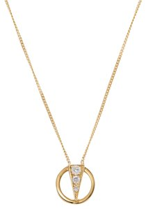 Other Vintage 18K Gold & Diamond Necklace