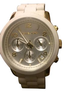 Michael Kors Kors White Women's Runway Watch