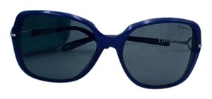 Tiffany & Co. Silver Key Blue Tiffany & Co. Sunglasses TF 4101 8192/3F 58