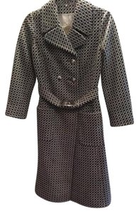 The Kit Vintage Classic Structured Love Diamond Trench Coat
