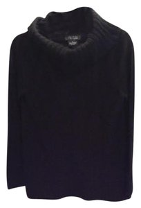 Sutton Cashmere Quilted Detail Classic Fall Sweater
