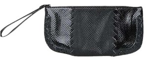 Bottega Veneta Python Black Clutch