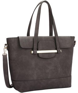 Other Classic Handbags Large Handbags The Treasured Hippie Vintage Satchel in Gray/Navy