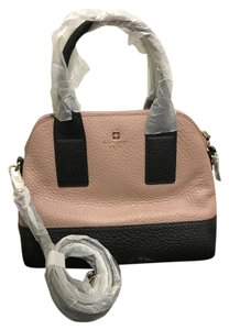 Kate Spade New York Leather New With Tags Satchel in Cream and Black