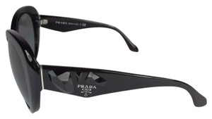 Prada sunglasses shiny black with jewels Prada butterfly sunglasses