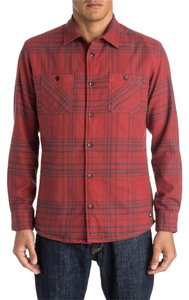 Quiksilver Button Down Shirt Rosewood