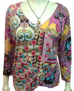 Caia Top Multi colored