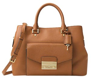 Michael Kors Next Day Shipping Satchel in Acorn