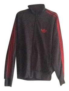 adidas Red and Grey Jacket